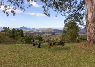 Relax with views of the Scenic Rim