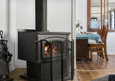 The Cottage - Timber fireplace