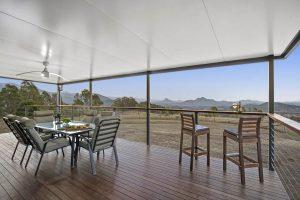 The Villa - Verandah with views