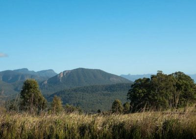 Mountain views near Boonah